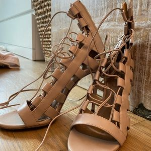 Aquazurra 35.5 sandal heel